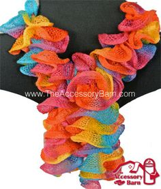 This scarf reminds me of the Autism Awareness puzzle. It is available from www.theaccessorybarn.com for $15.99
