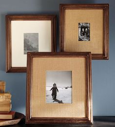 dining rooms, framed photos, dining room walls, gallery walls, future house, dining room colors, picture frames, wood frames, pottery barn