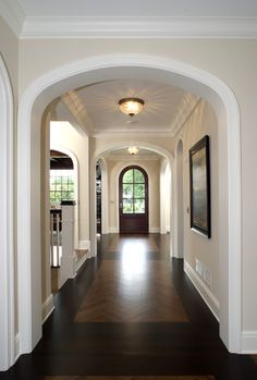 Hall - traditional - hall - minneapolis - Carl M. Hansen Companies