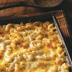 Creamy Baked Macaroni and Cheese Recipe from Taste of Home
