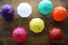 Japanese Paper Balloons