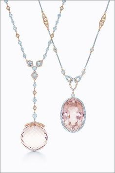 Tiffany Morganite pendants