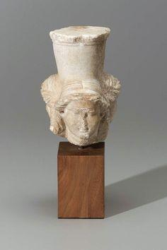 Triple Hekate. Roman , about 50 B.C.–A.D. 50