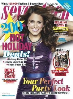 Our 2011/2012 holiday issue gave us the gift of the beautiful Nikki Reed on the cover!