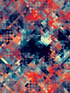 kaleidoscop, andi gilmor, quilt design, geometric art, quilt patterns, geometric shapes, color, colour palettes, print