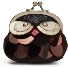 Owl coin purse {Kate Spade} <<-- I'm not really a fan of the Owl trend, but this is pretty great.