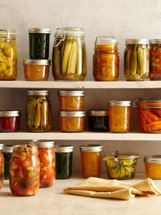 Canning, Pickling and Preserving 101 - every southern woman should know how to do this :)