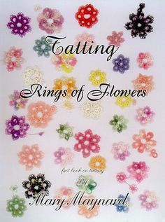First Needle Tatting Patterns | Books  Tatting Books  Tatting Rings of Flowers