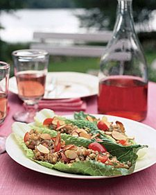 Kashi, Mint, and Almond Salad