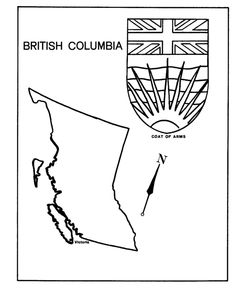 flag of nunavut coloring page
