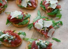 Crostini Carpaccio