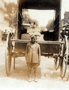 Delivery Boy (Child Labor Archives - Lewis Hine)