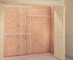 American Pacific 4x8x1/4 Cedar Closet Liner Flakeboard Panel
