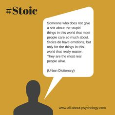 Stoics rock! Did you know that eminent psychologist Albert Ellis drew heavily on the ancient philosophy of Stoicism in developing Rational Emotive Behavior Therapy (REBT).  #Stoicism #Stoic