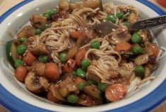 Ja Jang Myun (Korean noodles in a black bean sauce), you are the tastiest goodness that ever was.