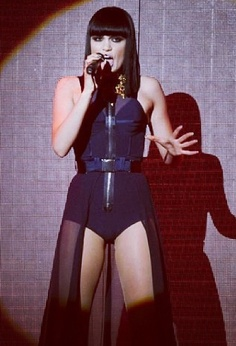 Jessie J doing what she does best -performing on stage :D