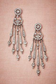 Sparkled Stream Earrings from BHLDN - $300