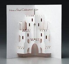 Castle Pop-Up Card