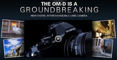 "New interactive ""Web Brochure"" for the Olympus OM-D E-M5."