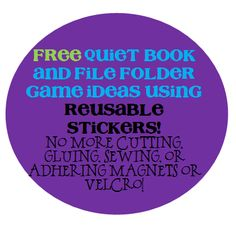 Quiet Books and File Folder Games the Easy Way | Mother's Niche mom idea, book idea, file folder games, quiet books, quiet time, busi bag, file folders, kid