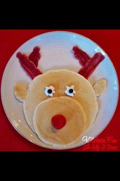 Pancake reindeer