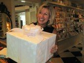 Get your purchases beautifully wrapped at The Little Exchange