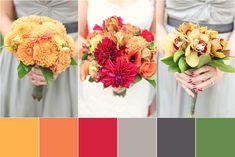 Rustic Fall Wedding Colors