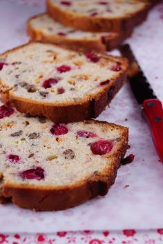 White Chocolate Cranberry Bread / Patty's Food