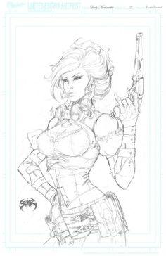 Lady Mechanika by Joe Benitez