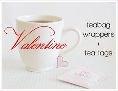 Won't You Be Mine? It's Tea Time! ~ Free Printable by Creature Comforts | The Knotty Bride™ Wedding Blog + Wedding Vendor Guide