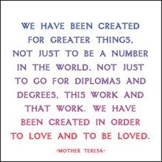 food for thought, remember this, god, mothers, mother theresa, mother teresa quotes, motherteresa, inspir, greater thing