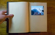 A linking book from Myst, with a tiny touch screen in it that you play Myst on.