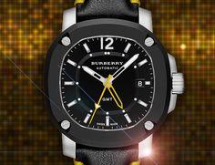 watch lover, fashion watches, travel automat, gmt travel, mechan movement, burberri britain