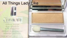 CLINIQUE Colour Surge Eyeshadow NIB SUMMBER BEIGE soft shimmer new makeup