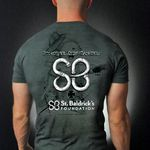 Black Helmet teamed up with St. Baldricks to create an original design and donate $7 of every shirt sold to help conquer kids' cancers. Price:$19.95. Way to do something beautiful, Black Helmet!