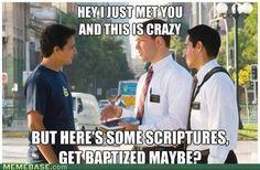 Mormon humor... hehe.