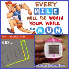 3/24/14: 4 mile run + 40 curtsy lunges