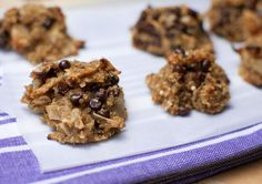Cookies made with quinoa? Yes please! Packed with protein...these have got to be good.