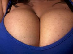 My awesome cleavage.