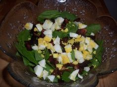 Baby Spinach Salad w