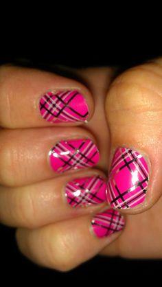 pink plaid!