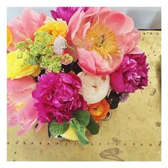 peony season!!! // #floral #bouquets #flowers #color