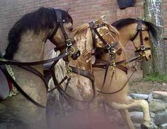 Antique rocking horses