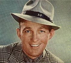 Bing Crosby, singer and actor.