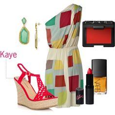 Kaye wedge sandal #shoes