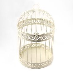 Classic Decorative Birdcage - Wedding Wishing Well, $34.98 (http://event.thingsfestive.com/classic-decorative-birdcage-wedding-wishing-well/)