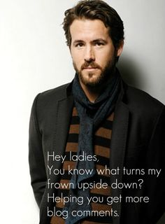 Ryan Reynolds one ups Ryan Gosling and actually provides good tips :)
