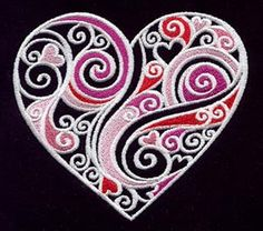 Embroidery Designs at Urban Threads - Doodle Love