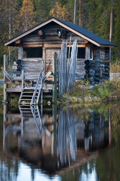 #cabin #home #woods #forest #live #home #cottage