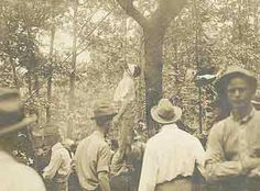 1915 Leo Frank, lynched in southern USA, home of the KKK and other racist and antisemitic fringe groups. Falsely accused of rape, convicted and sentenced to death, then having the sentence commuted to life, Leo was lynched by a rabidly antisemitic crowd. The image of Leo, hanging from a tree, is still prized today by the townsfolk responsible.